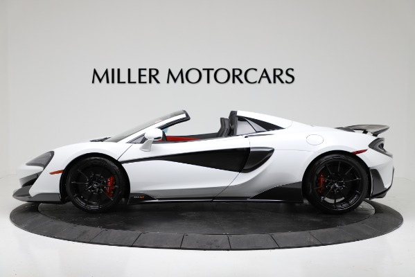 New 2020 McLaren 600LT Convertible for sale Sold at Bentley Greenwich in Greenwich CT 06830 3