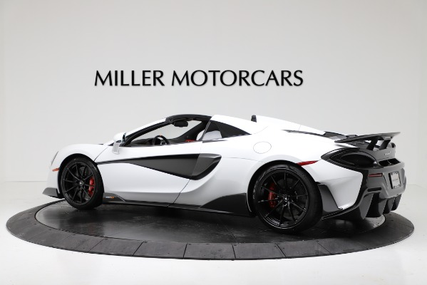 New 2020 McLaren 600LT Convertible for sale Sold at Bentley Greenwich in Greenwich CT 06830 4