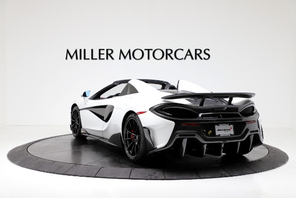 New 2020 McLaren 600LT Convertible for sale Sold at Bentley Greenwich in Greenwich CT 06830 5