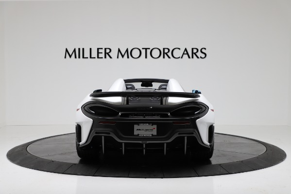 New 2020 McLaren 600LT Convertible for sale Sold at Bentley Greenwich in Greenwich CT 06830 6