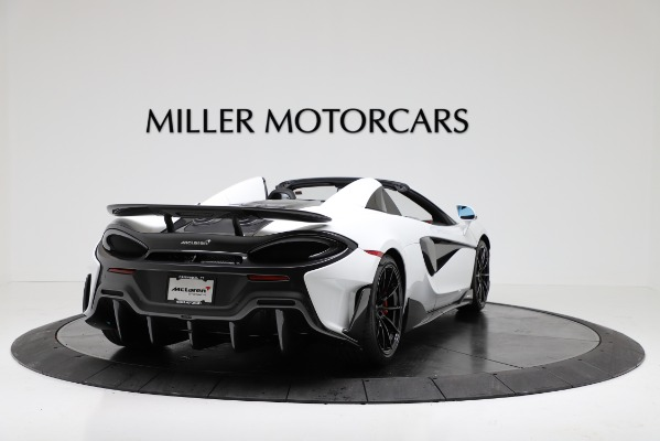 New 2020 McLaren 600LT Convertible for sale Sold at Bentley Greenwich in Greenwich CT 06830 7