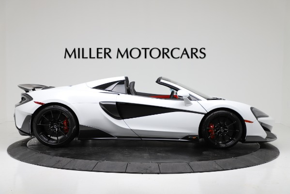 New 2020 McLaren 600LT Convertible for sale Sold at Bentley Greenwich in Greenwich CT 06830 9