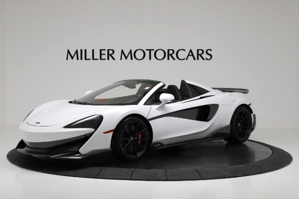 New 2020 McLaren 600LT Convertible for sale Sold at Bentley Greenwich in Greenwich CT 06830 1