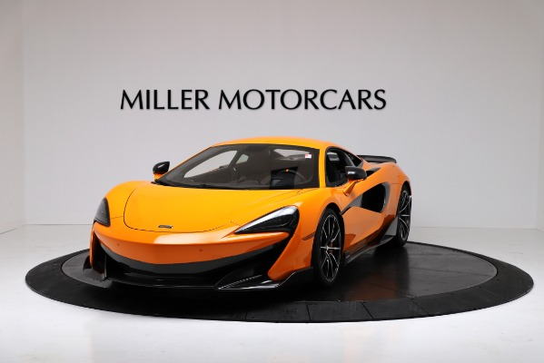 New 2019 McLaren 600LT Coupe for sale Call for price at Bentley Greenwich in Greenwich CT 06830 2
