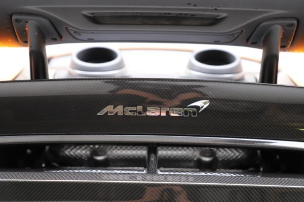 New 2019 McLaren 600LT for sale $279,310 at Bentley Greenwich in Greenwich CT 06830 24