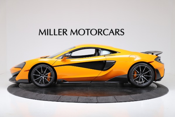 New 2019 McLaren 600LT Coupe for sale Call for price at Bentley Greenwich in Greenwich CT 06830 3