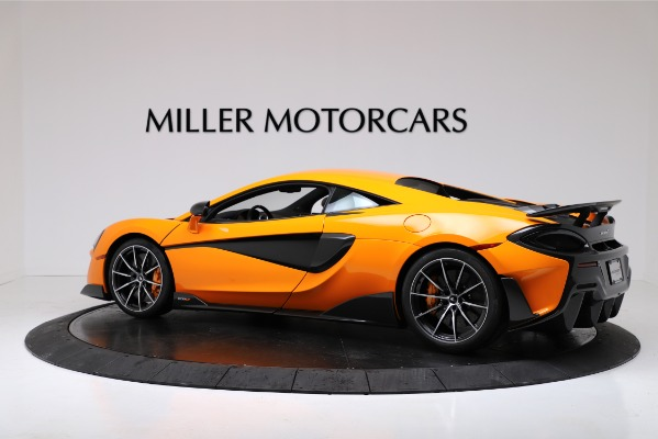 New 2019 McLaren 600LT Coupe for sale $279,310 at Bentley Greenwich in Greenwich CT 06830 4
