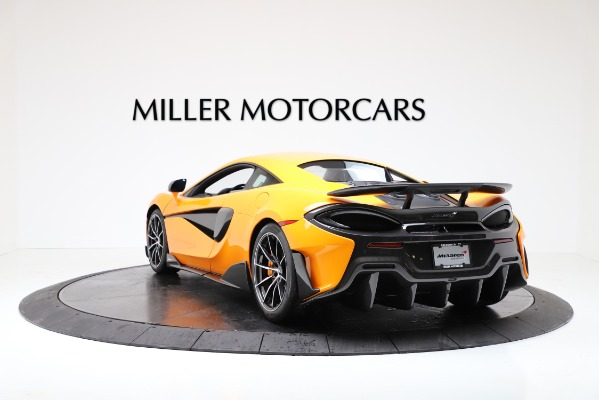 New 2019 McLaren 600LT Coupe for sale $279,310 at Bentley Greenwich in Greenwich CT 06830 5