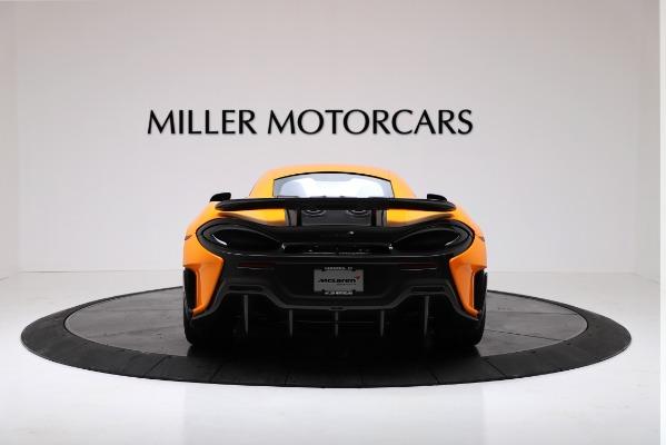 New 2019 McLaren 600LT for sale $279,310 at Bentley Greenwich in Greenwich CT 06830 6
