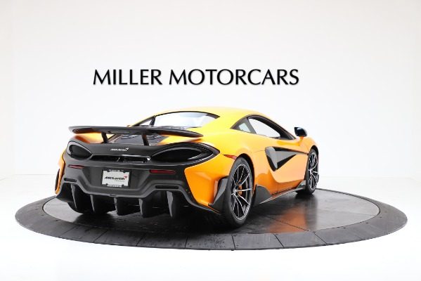 New 2019 McLaren 600LT for sale $279,310 at Bentley Greenwich in Greenwich CT 06830 7