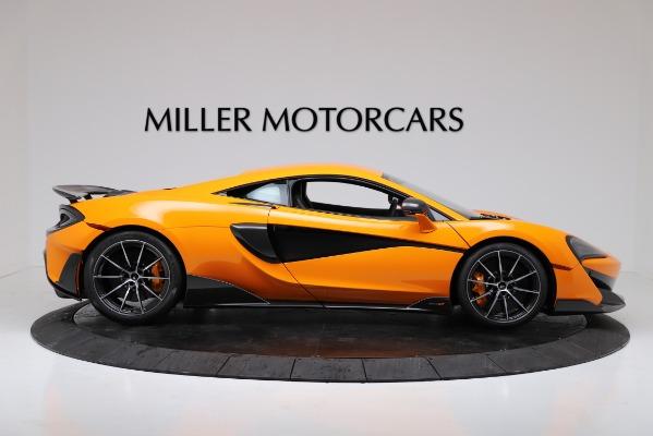 New 2019 McLaren 600LT for sale $279,310 at Bentley Greenwich in Greenwich CT 06830 9