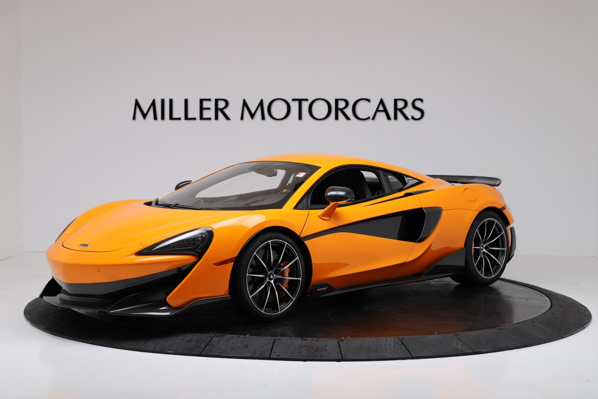 New 2019 McLaren 600LT for sale $279,310 at Bentley Greenwich in Greenwich CT 06830 1