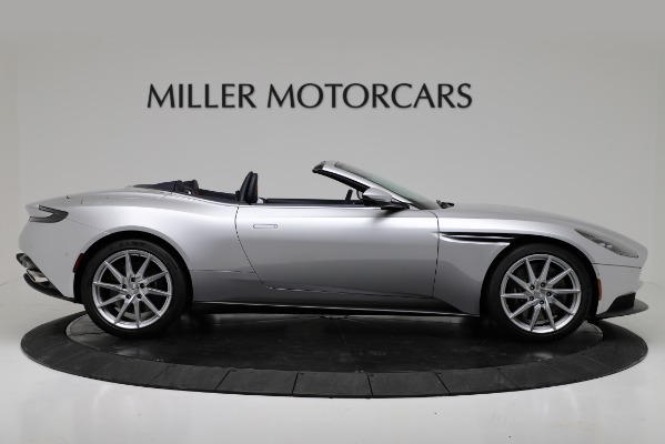 Used 2019 Aston Martin DB11 Volante for sale $204,900 at Bentley Greenwich in Greenwich CT 06830 9