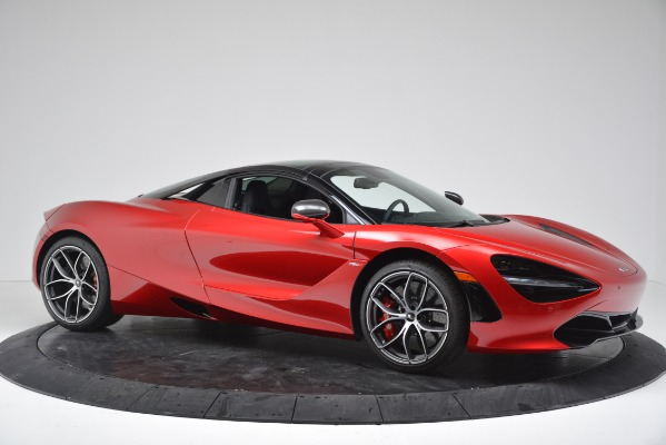 New 2020 McLaren 720S SPIDER Convertible for sale $383,640 at Bentley Greenwich in Greenwich CT 06830 12