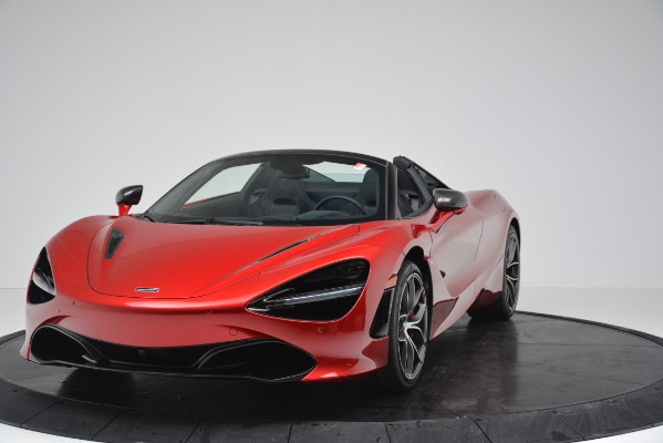 New 2020 McLaren 720S SPIDER Convertible for sale $383,640 at Bentley Greenwich in Greenwich CT 06830 15