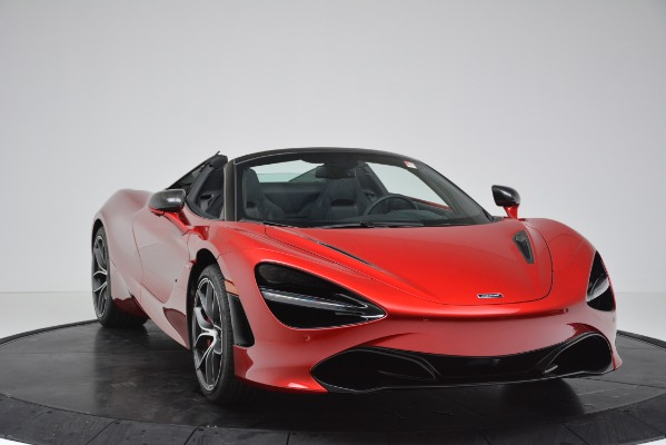 New 2020 McLaren 720S SPIDER Convertible for sale $383,640 at Bentley Greenwich in Greenwich CT 06830 26