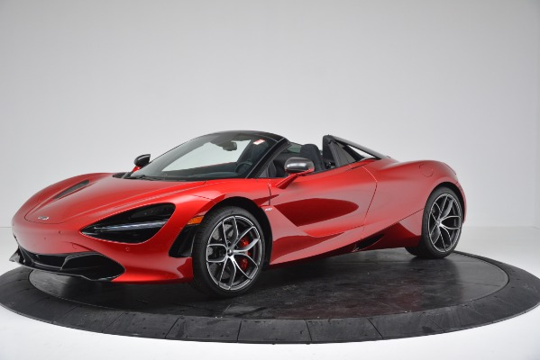 New 2020 McLaren 720S SPIDER Convertible for sale $383,640 at Bentley Greenwich in Greenwich CT 06830 1
