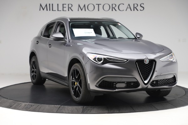 New 2019 Alfa Romeo Stelvio Ti Q4 for sale Sold at Bentley Greenwich in Greenwich CT 06830 11