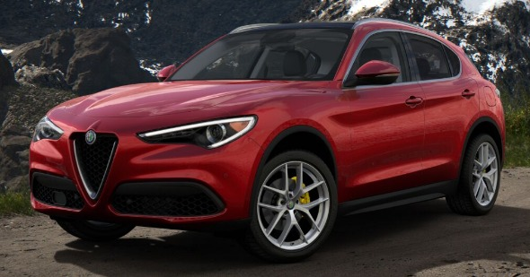 New 2019 Alfa Romeo Stelvio Ti Q4 for sale Sold at Bentley Greenwich in Greenwich CT 06830 1