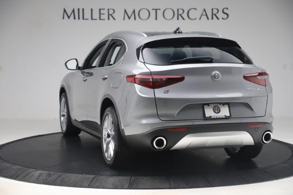 New 2019 Alfa Romeo Stelvio Ti Lusso Q4 for sale Sold at Bentley Greenwich in Greenwich CT 06830 5