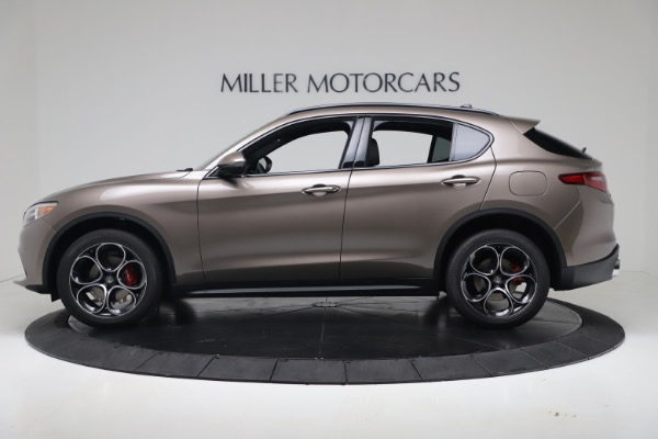 New 2019 Alfa Romeo Stelvio Ti Sport Q4 for sale Sold at Bentley Greenwich in Greenwich CT 06830 3