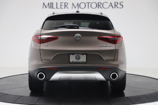 New 2019 Alfa Romeo Stelvio Ti Sport Q4 for sale Sold at Bentley Greenwich in Greenwich CT 06830 6