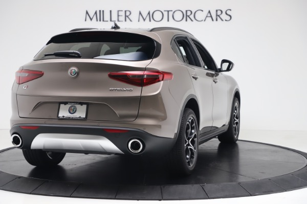 New 2019 Alfa Romeo Stelvio Ti Sport Q4 for sale Sold at Bentley Greenwich in Greenwich CT 06830 7