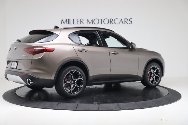 New 2019 Alfa Romeo Stelvio Ti Sport Q4 for sale Sold at Bentley Greenwich in Greenwich CT 06830 8