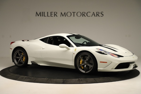 Used 2014 Ferrari 458 Speciale for sale $359,900 at Bentley Greenwich in Greenwich CT 06830 10