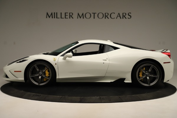 Used 2014 Ferrari 458 Speciale for sale $359,900 at Bentley Greenwich in Greenwich CT 06830 3