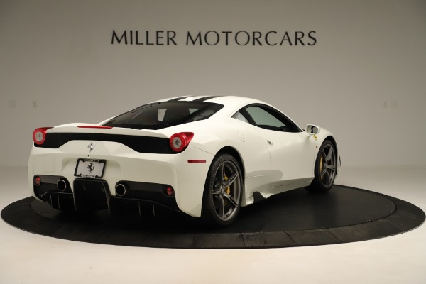 Used 2014 Ferrari 458 Speciale for sale $359,900 at Bentley Greenwich in Greenwich CT 06830 7