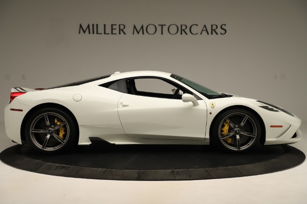 Used 2014 Ferrari 458 Speciale for sale $359,900 at Bentley Greenwich in Greenwich CT 06830 9