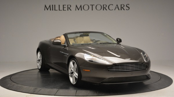Used 2012 Aston Martin Virage Convertible for sale Sold at Bentley Greenwich in Greenwich CT 06830 11