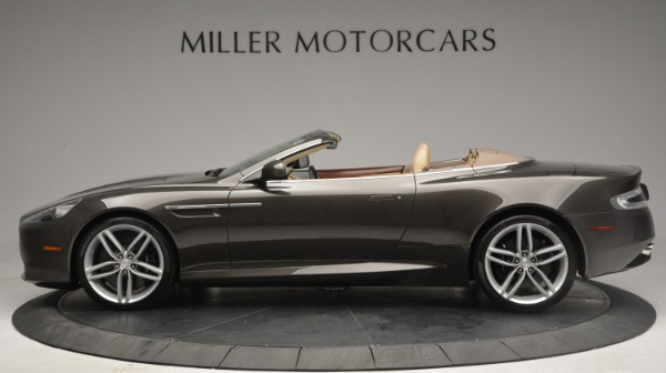 Used 2012 Aston Martin Virage Convertible for sale Sold at Bentley Greenwich in Greenwich CT 06830 3
