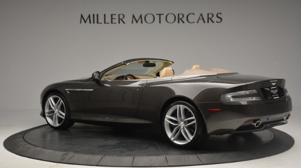 Used 2012 Aston Martin Virage Convertible for sale Sold at Bentley Greenwich in Greenwich CT 06830 4