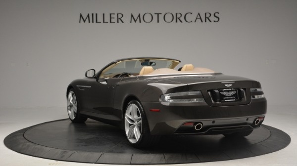 Used 2012 Aston Martin Virage Convertible for sale Sold at Bentley Greenwich in Greenwich CT 06830 5