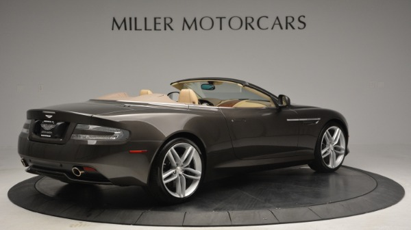 Used 2012 Aston Martin Virage Convertible for sale Sold at Bentley Greenwich in Greenwich CT 06830 8