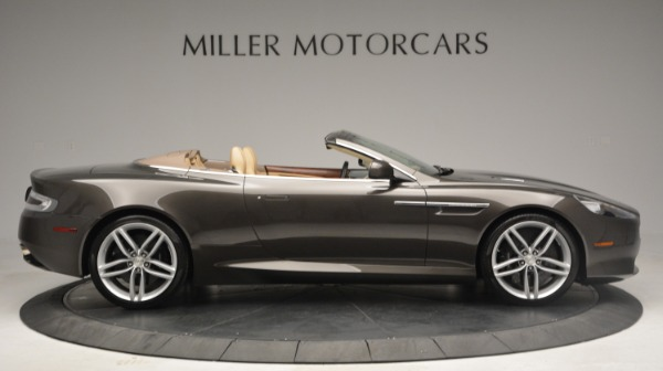Used 2012 Aston Martin Virage Convertible for sale Sold at Bentley Greenwich in Greenwich CT 06830 9