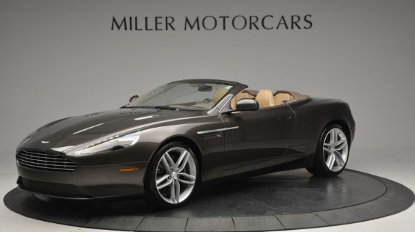 Used 2012 Aston Martin Virage Convertible for sale Sold at Bentley Greenwich in Greenwich CT 06830 1