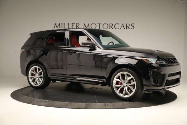 Used 2019 Land Rover Range Rover Sport SVR for sale Sold at Bentley Greenwich in Greenwich CT 06830 10