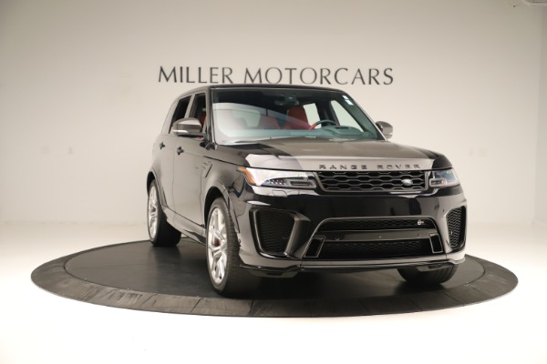 Used 2019 Land Rover Range Rover Sport SVR for sale Sold at Bentley Greenwich in Greenwich CT 06830 11