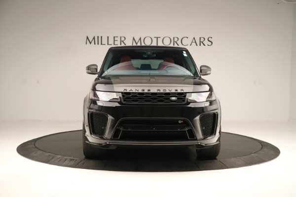 Used 2019 Land Rover Range Rover Sport SVR for sale Sold at Bentley Greenwich in Greenwich CT 06830 12