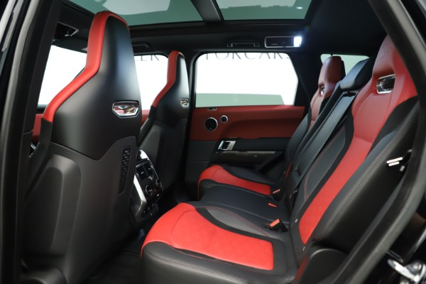 Used 2019 Land Rover Range Rover Sport SVR for sale Sold at Bentley Greenwich in Greenwich CT 06830 17