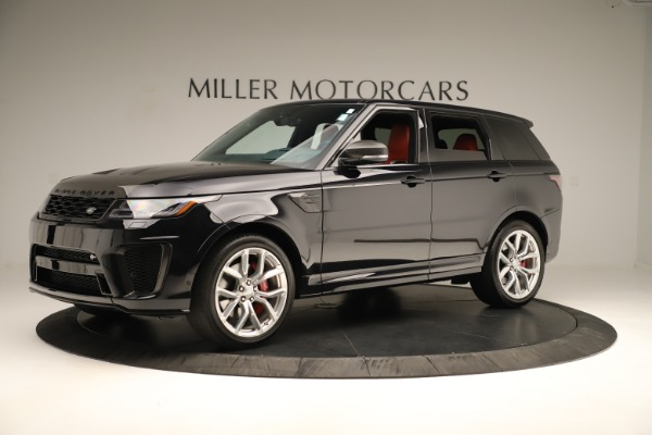 Used 2019 Land Rover Range Rover Sport SVR for sale Sold at Bentley Greenwich in Greenwich CT 06830 2