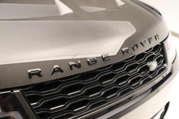 Used 2019 Land Rover Range Rover Sport SVR for sale Sold at Bentley Greenwich in Greenwich CT 06830 24