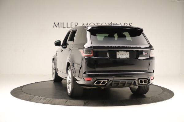 Used 2019 Land Rover Range Rover Sport SVR for sale Sold at Bentley Greenwich in Greenwich CT 06830 5