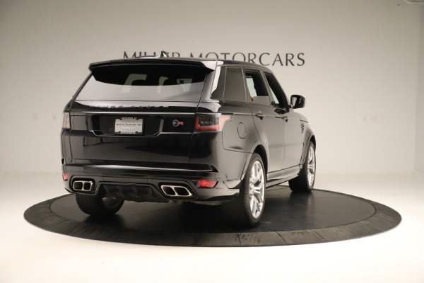 Used 2019 Land Rover Range Rover Sport SVR for sale Sold at Bentley Greenwich in Greenwich CT 06830 7