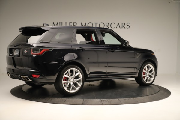Used 2019 Land Rover Range Rover Sport SVR for sale Sold at Bentley Greenwich in Greenwich CT 06830 8