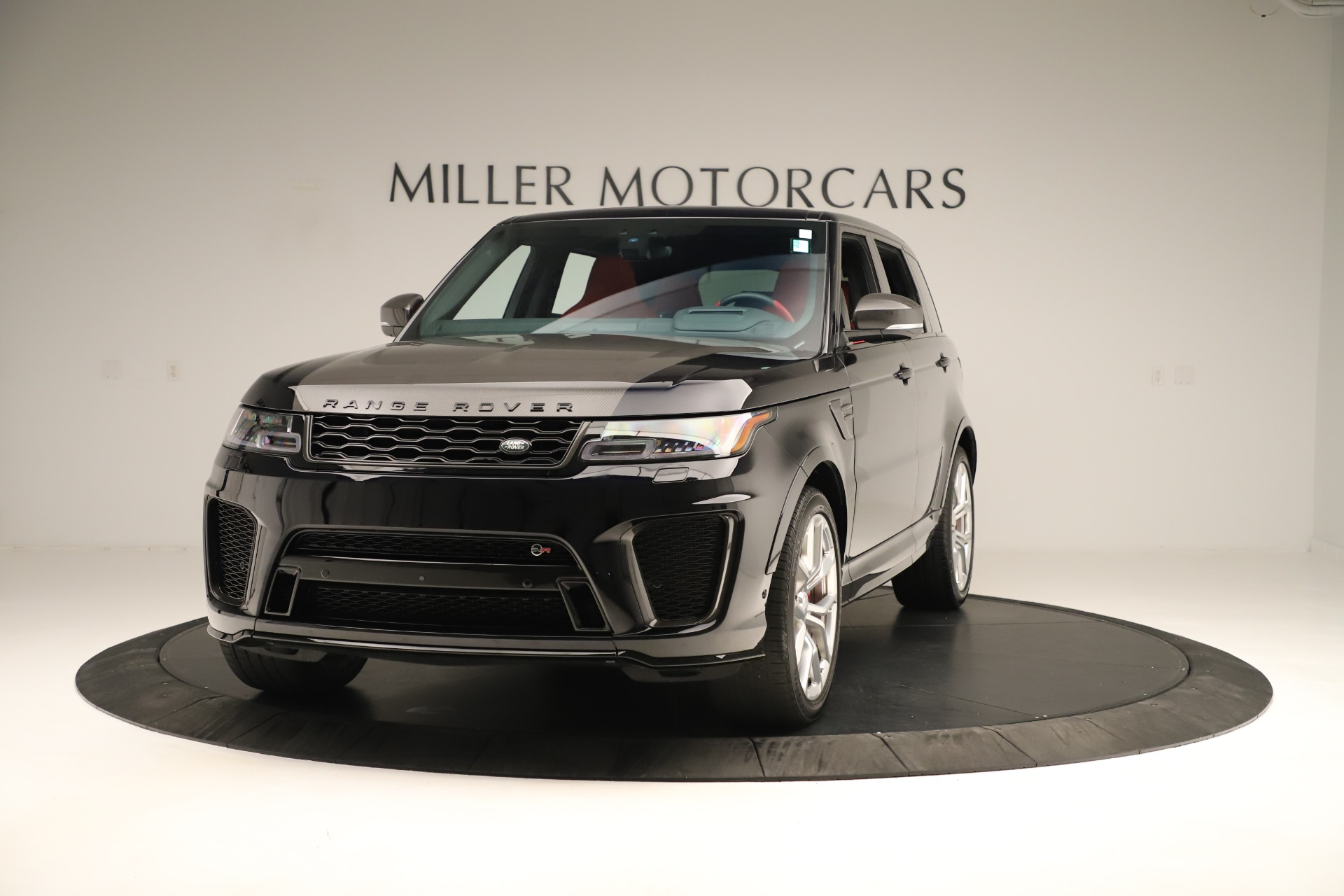 Used 2019 Land Rover Range Rover Sport SVR for sale Sold at Bentley Greenwich in Greenwich CT 06830 1