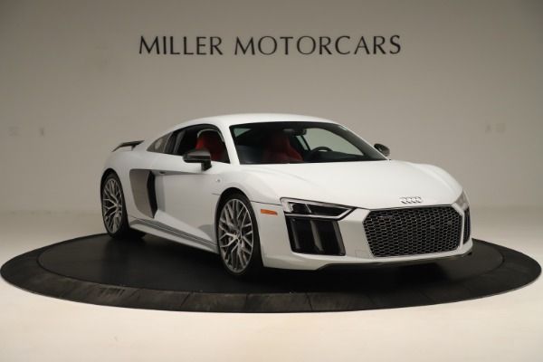 Used 2018 Audi R8 5.2 quattro V10 Plus for sale Sold at Bentley Greenwich in Greenwich CT 06830 11